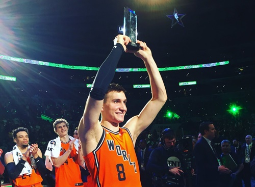 Bogdan Bogdanovic Wins Mvp In 2018 Nba Rising Stars