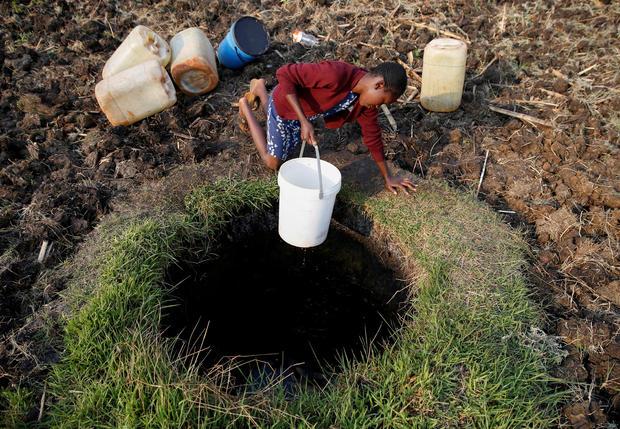 zimbabwe-harare-water-shortage